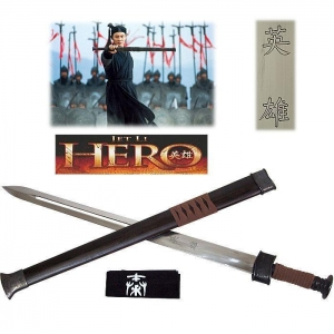 China SWORDS Hero Movie Sword of the Nameless Warrior w/Scabbard on sale