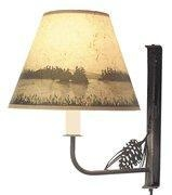 China Wildlife Themed Table Lamps Lakescape Swing Arm Lamp on sale