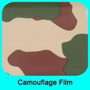 China Special Car Wrap Material Camouflage film on sale