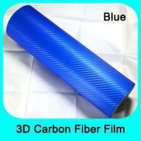 2D/ 3D/ 4D/5D Carbon Black Auto High polymer 3D carbon fiber vinyl