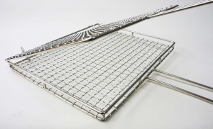 China Stainless Steel Mesh Stainless Steel Barbecue Grill Mesh on sale