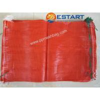 China PP MESH BAG mesh onion bags,52x83cm,orange,32kg on sale