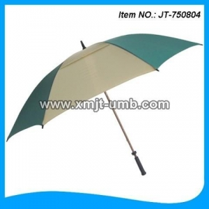 China Golf Umbrella 30*8K High Quality Double Layer Golf Umbrella/strong windproof golf umbrella on sale