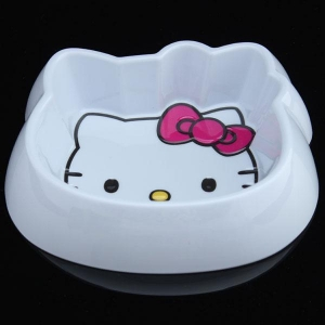 China The cat face dog bowl on sale