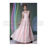Fashion Pink long prom dress, bridesmaid dress - Sweetheart+Jewel pearl