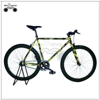 China Fixed Gear Bike 700c 50mm alloy rim triple wall colorful frame fixed gear cycle on sale