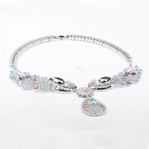 China 925 sterling silver necklaces on sale