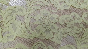 China Wholesaling excellent quality nylon lace fabric on sale