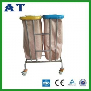 China Hospital waste bin with two Nylon bags on sale