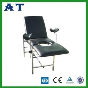 China Stainless Steel gynecology bed on sale