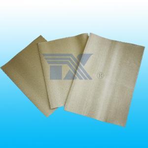 China Vermiculite coated silica Fiberglass cloth on sale