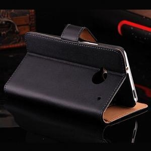 China Retro Real Leather Case for HTC One M7 801e Luxury Wallet Stand Style on sale