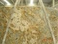 China Tiger Yellow Granite Gangsaw Slab for countertop on sale