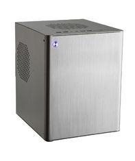 China 1.5mm Wiredrawing Texture Mini ITX Micro ATX Case , Aluminum Desktop PC Case on sale