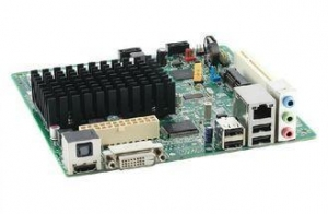 China Intel D2550DC2 Atom Mini ITX Mainboard 1.86GHz Dual-core CPU , Intel NM10 Express Chipset on sale