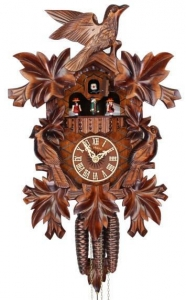 China Adolf Herr Cuckoo Clock - The Cuckoo Bird Family - 1 day with music - Nr. AH 372/1 MT on sale