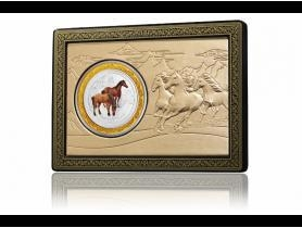 China 2014 Perth Mint Year of the Horse 1oz Colored Lunar Coin Set on sale