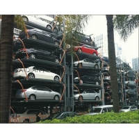 China smart rotary car parking system, autoparking lift, car parking garage