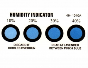China Humidity Indicator Cards Humidity Indicator Cards on sale