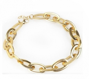 China men fashion jewelry 316L stainless steel plated gold chain necklace designs on sale