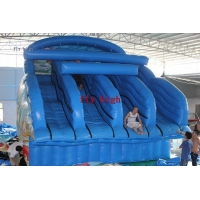 Inflatable Four slides