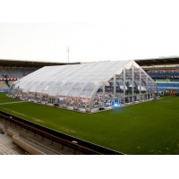 high quality transparent curve tent for durable using