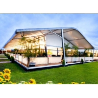 high quality aluminium curve party tent for sale in shenzhen of China