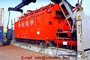 China Electric Heating Boiler Products DZL type horizontal chain coal-fired steam boiler on sale
