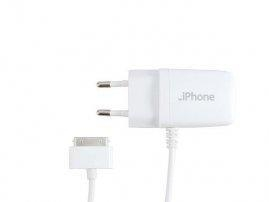 China White EU Style iPad 3rd / iPhone 4G / iPod Touch 4th Wall Charger on sale
