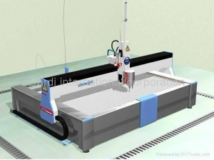 China 4/5-Axis CNC Waterjet Machine / Water Jet Machine on sale