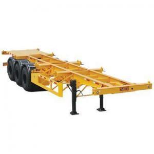 China Tri-axle Container Skeletal Semi-trailer on sale