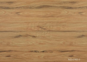 China Furniture Paper wood finish contact paper Tiger Wood Model:ND1983-1 on sale