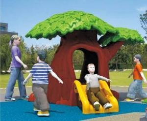 China Plastic Tree Play House on sale