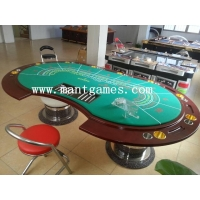 84 Inch LED Baccarat Casino Poker Game Table Solid Wood Material 2015 New Product Type T007