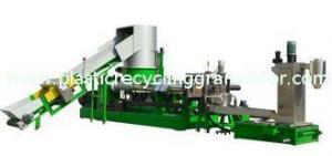China Waste Plastic Granules Making Machine on sale