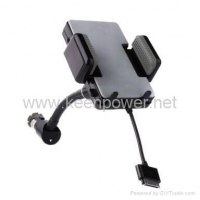 Car FM Transmitters Car Charger /Holder / FM Transmitter for IPhone and Ipod