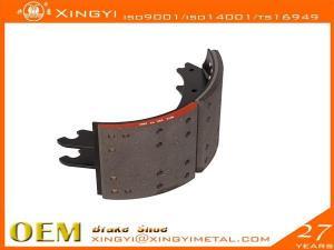 China Brake Shoe & Brake Hardware Kits 4515 Lined Shoe Assembly on sale