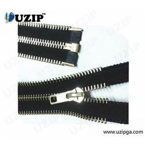 China New Designed Metal Zippers for Leather Coat Decoration on sale