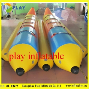 China Fly Boat water sled inflatable banana boat/skating on water on sale