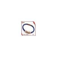 China Alibaba Express Wholesale Motorcycle Skull Pink Leather Male Bracelet on sale