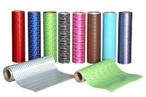 China Color Ribbon rolls Printing poly material on sale
