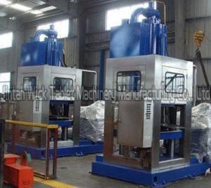 China Livestock salt licking brick making machine on sale