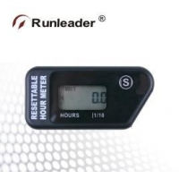 China HOUR METER Resettable Hour Meter RL-HM016H (Black) on sale