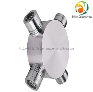 China LED Wall Light 4W Recessed LED Wall Light with CE and RoHS Certification on sale