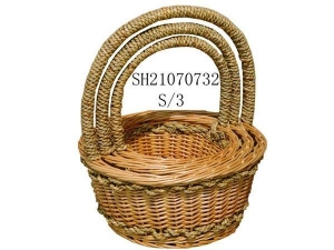 China Willow baskets on sale