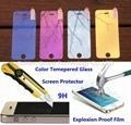 China Iphone 5 5S 5C Color Tempered Glass Screen Protector,Explosion Proof Protective on sale