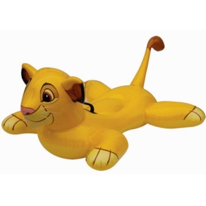China inflatable pool floats Inflatable animals floats-lion on sale
