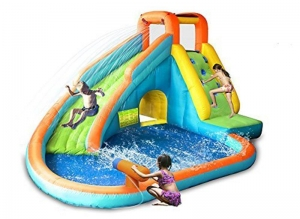 China Playful Water Slide with Water Gun on sale