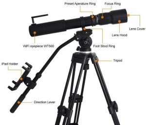 China 500mm Fixed Focus Telephoto Zoom Spotting Scope on sale
