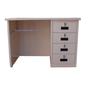 China Bewa-076 Metal Table with Four Drawer on sale